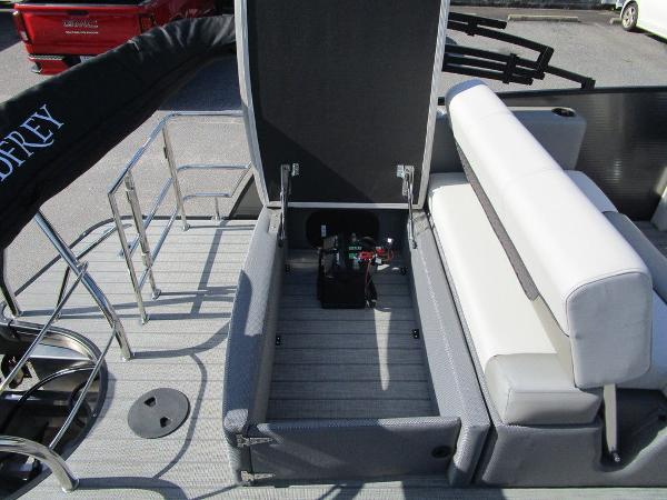 2021 Godfrey Pontoon boat for sale, model of the boat is Monaco 235 SFL GTP 27 in. & Image # 29 of 32