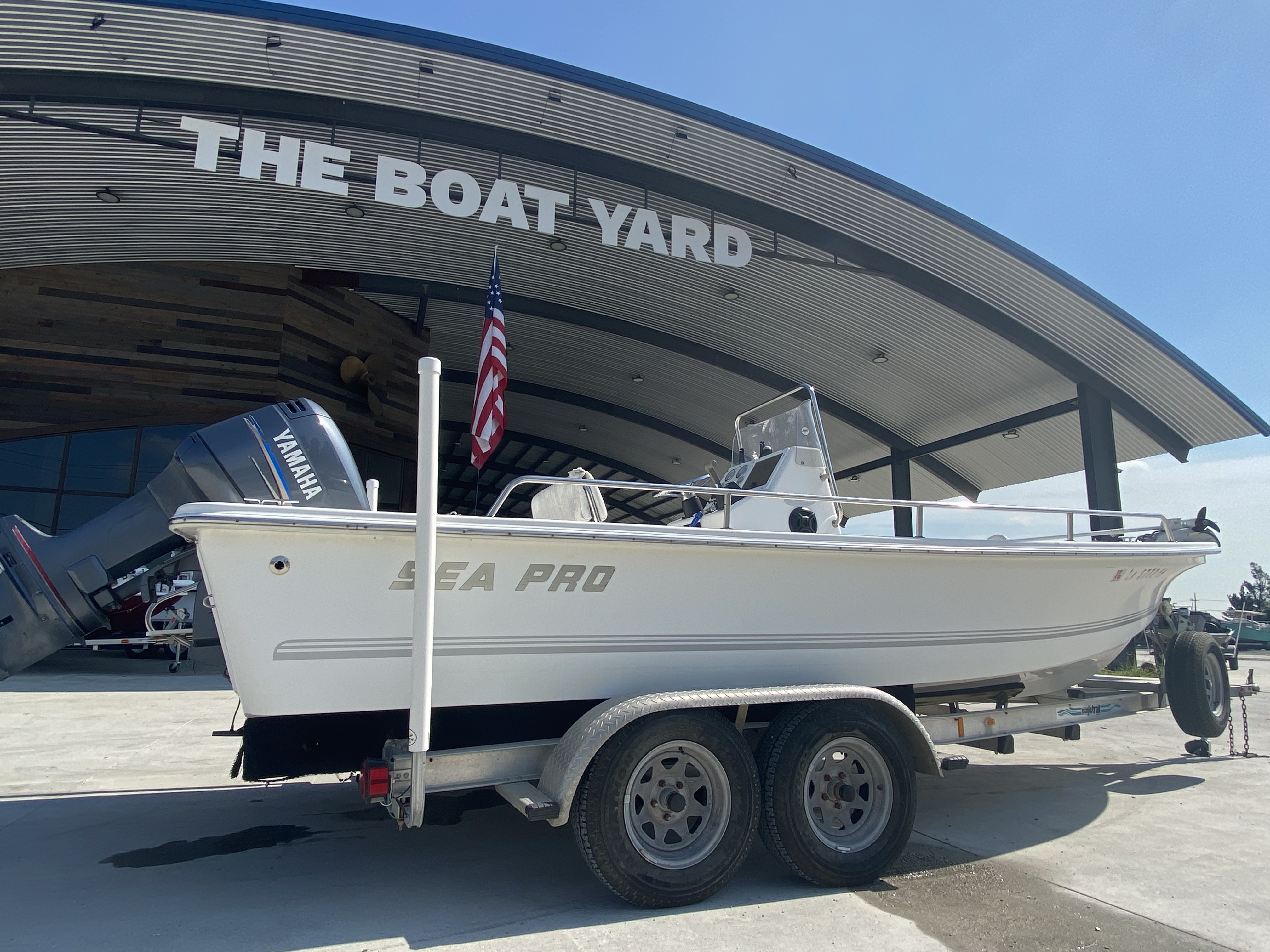 2003 Sea Pro boat for sale, model of the boat is SV2100 & Image # 2 of 12