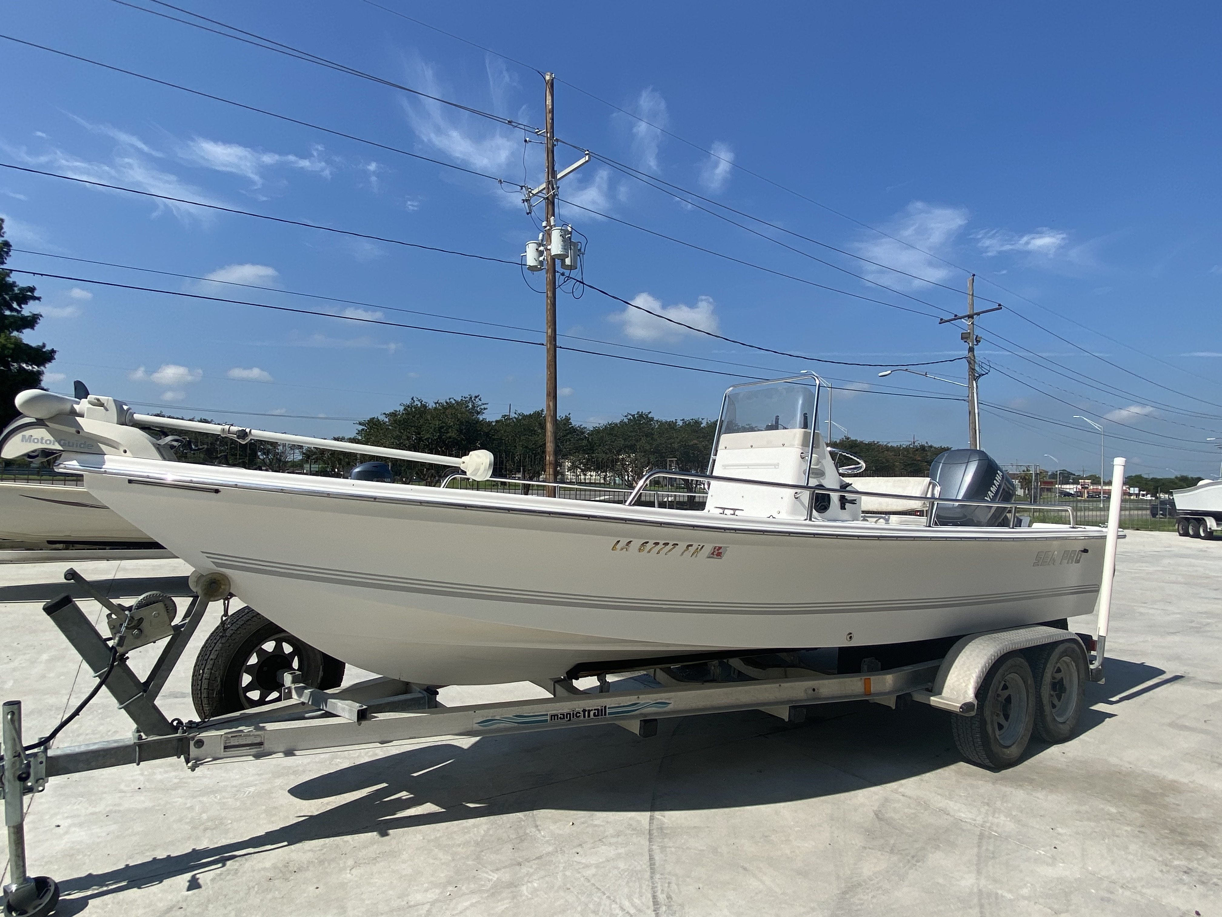 2003 Sea Pro boat for sale, model of the boat is SV2100 & Image # 10 of 12