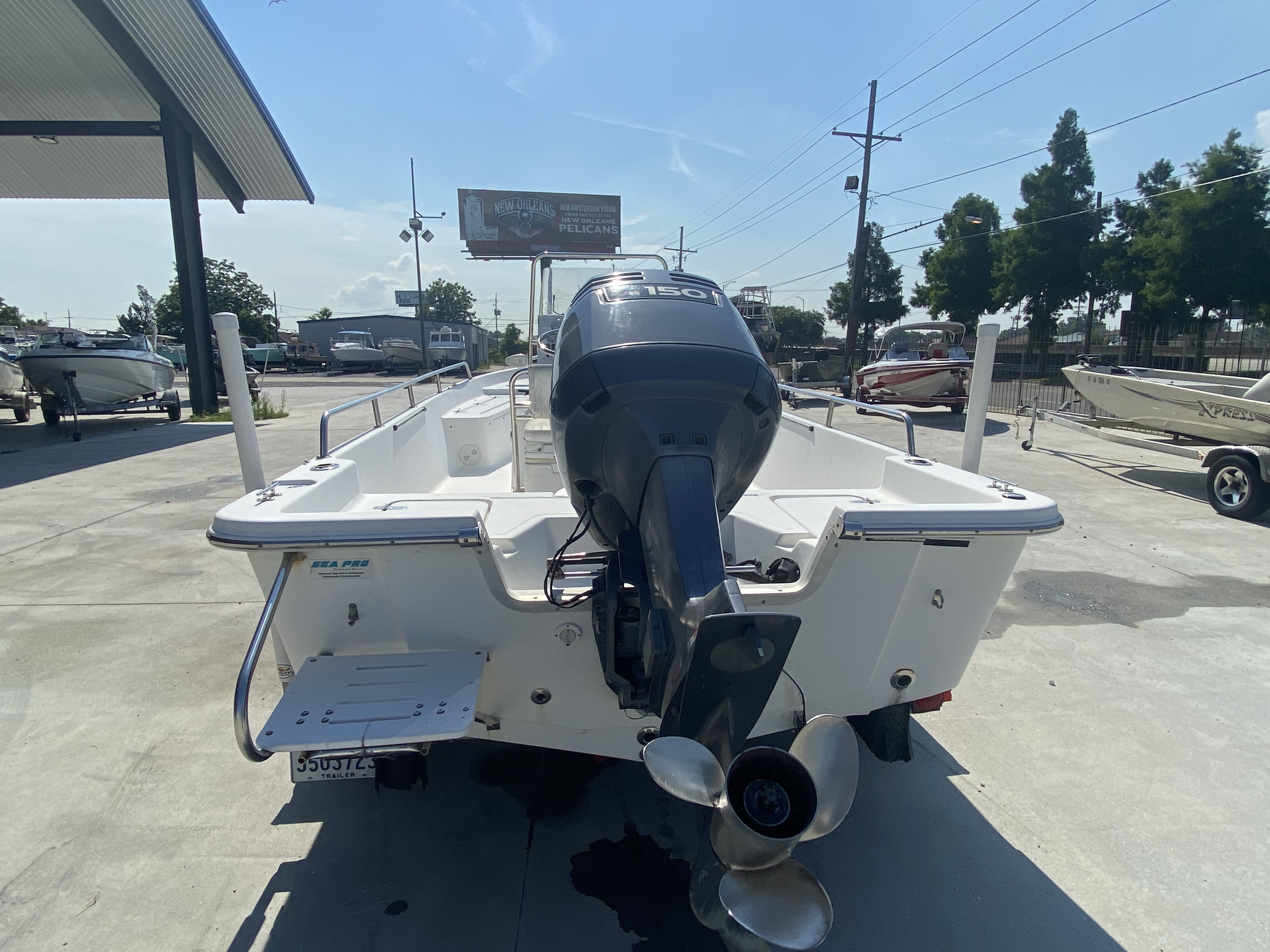 2003 Sea Pro boat for sale, model of the boat is SV2100 & Image # 12 of 12