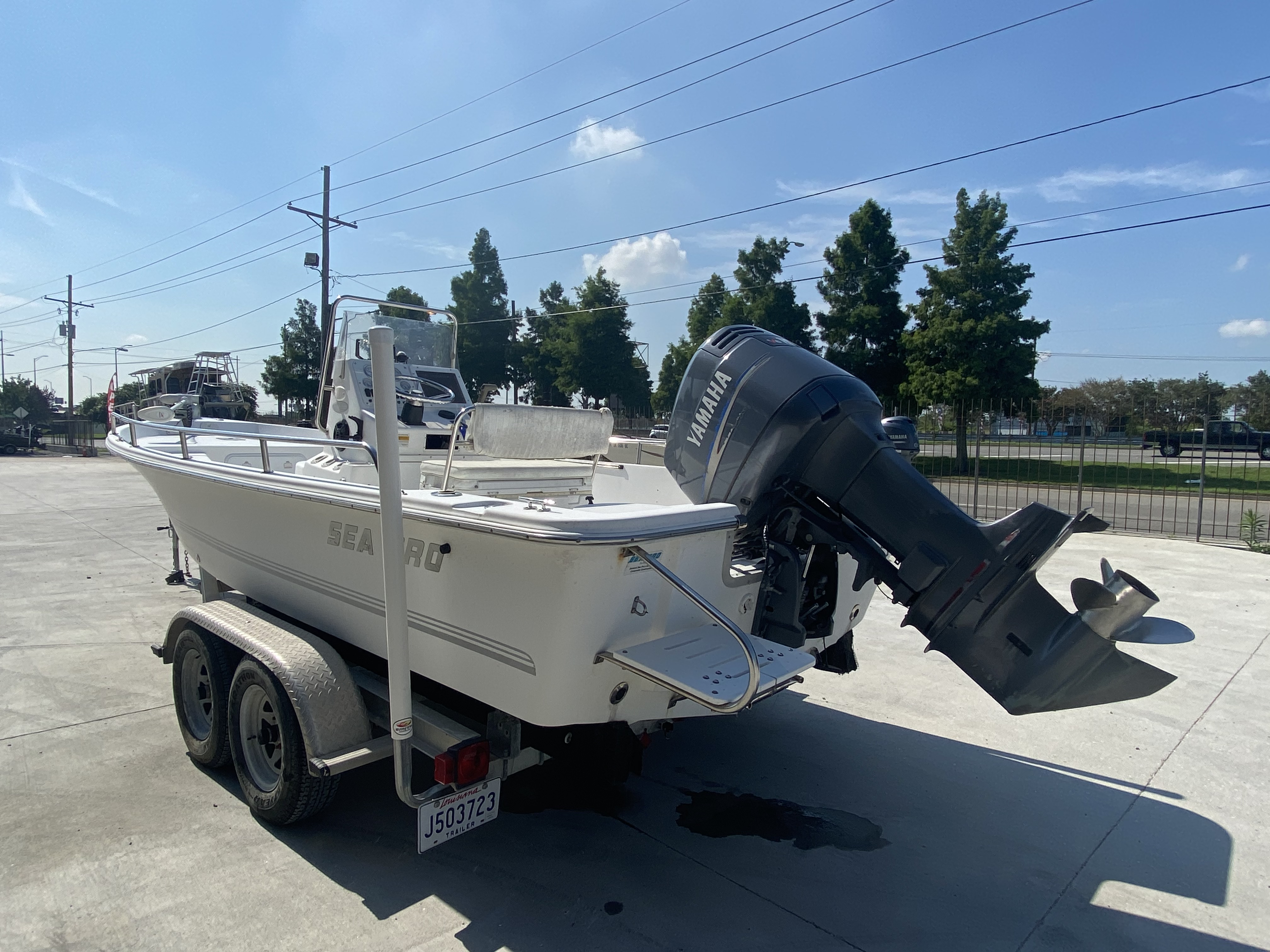2003 Sea Pro boat for sale, model of the boat is SV2100 & Image # 3 of 12