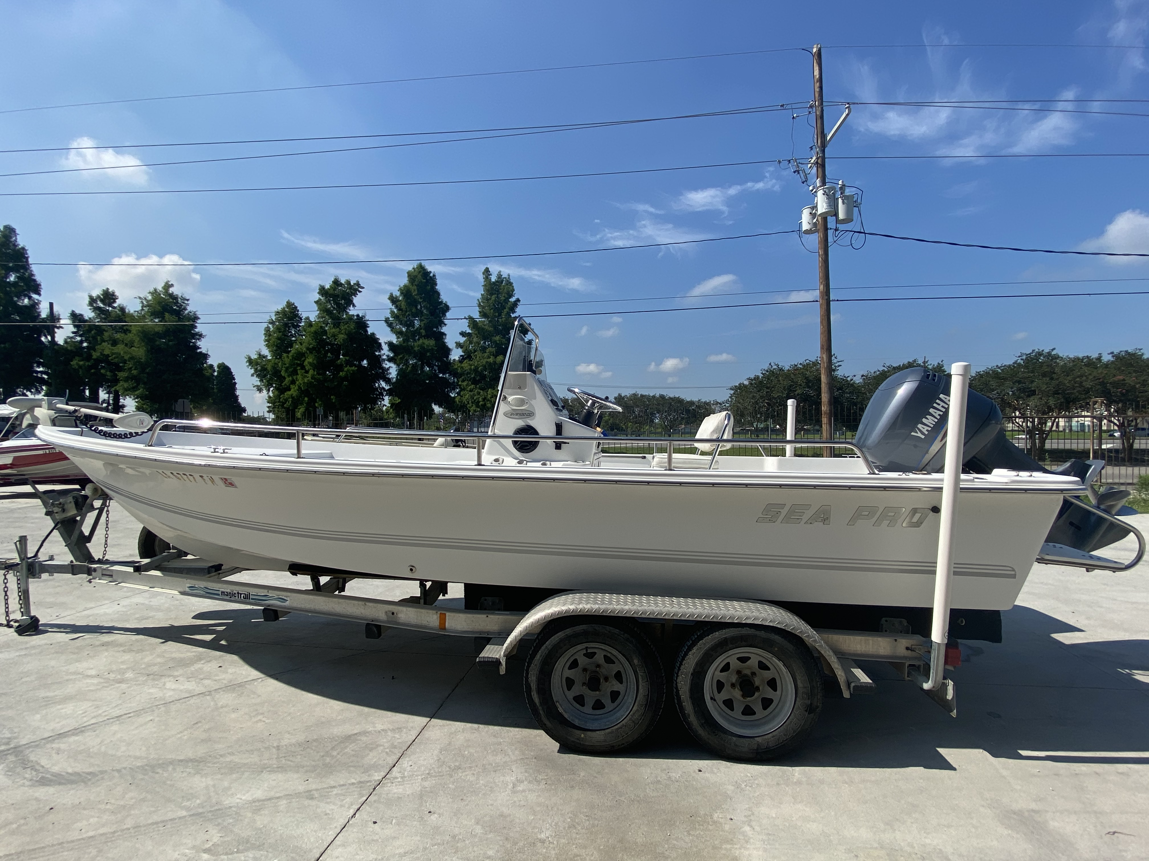 2003 Sea Pro boat for sale, model of the boat is SV2100 & Image # 4 of 12