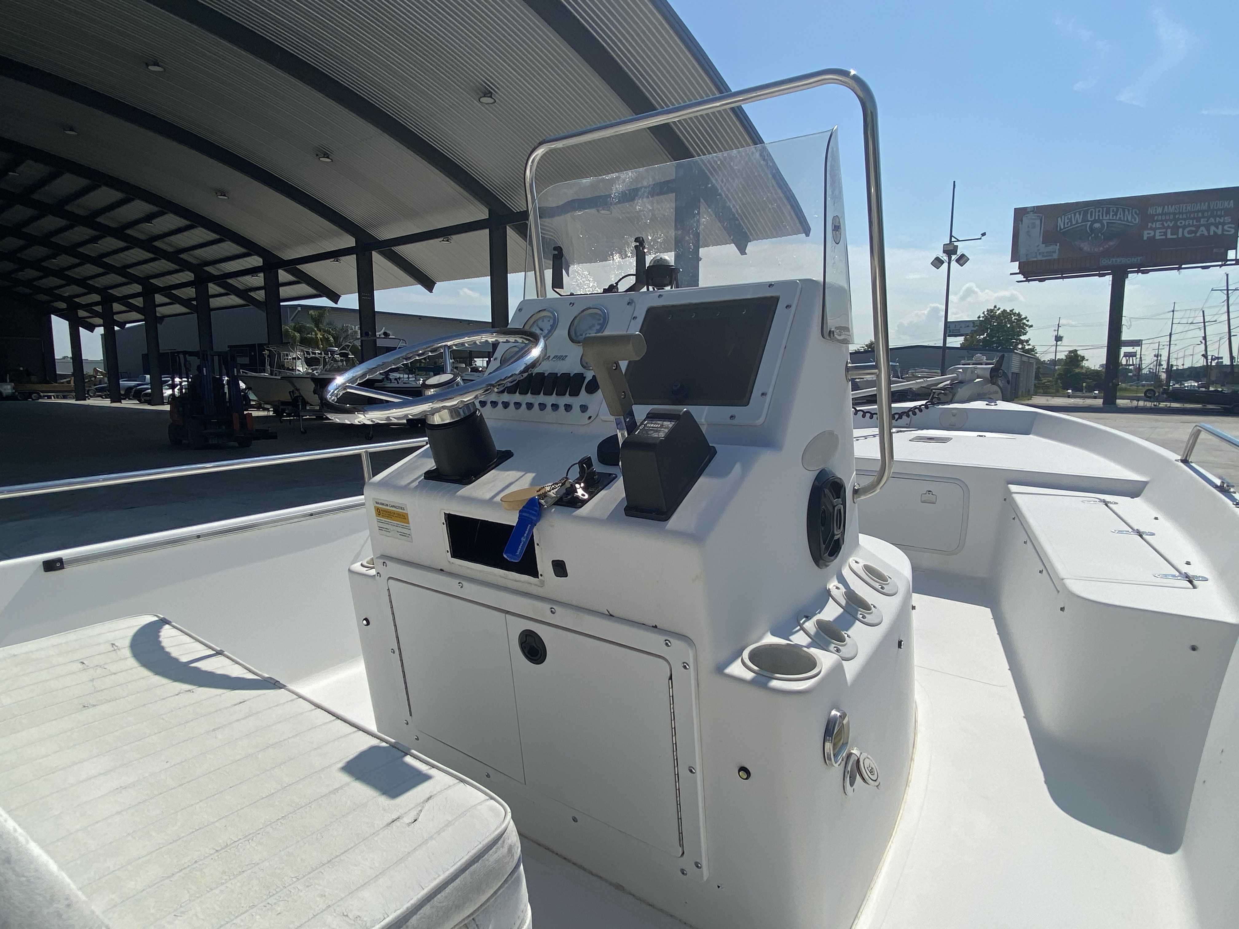 2003 Sea Pro boat for sale, model of the boat is SV2100 & Image # 8 of 12