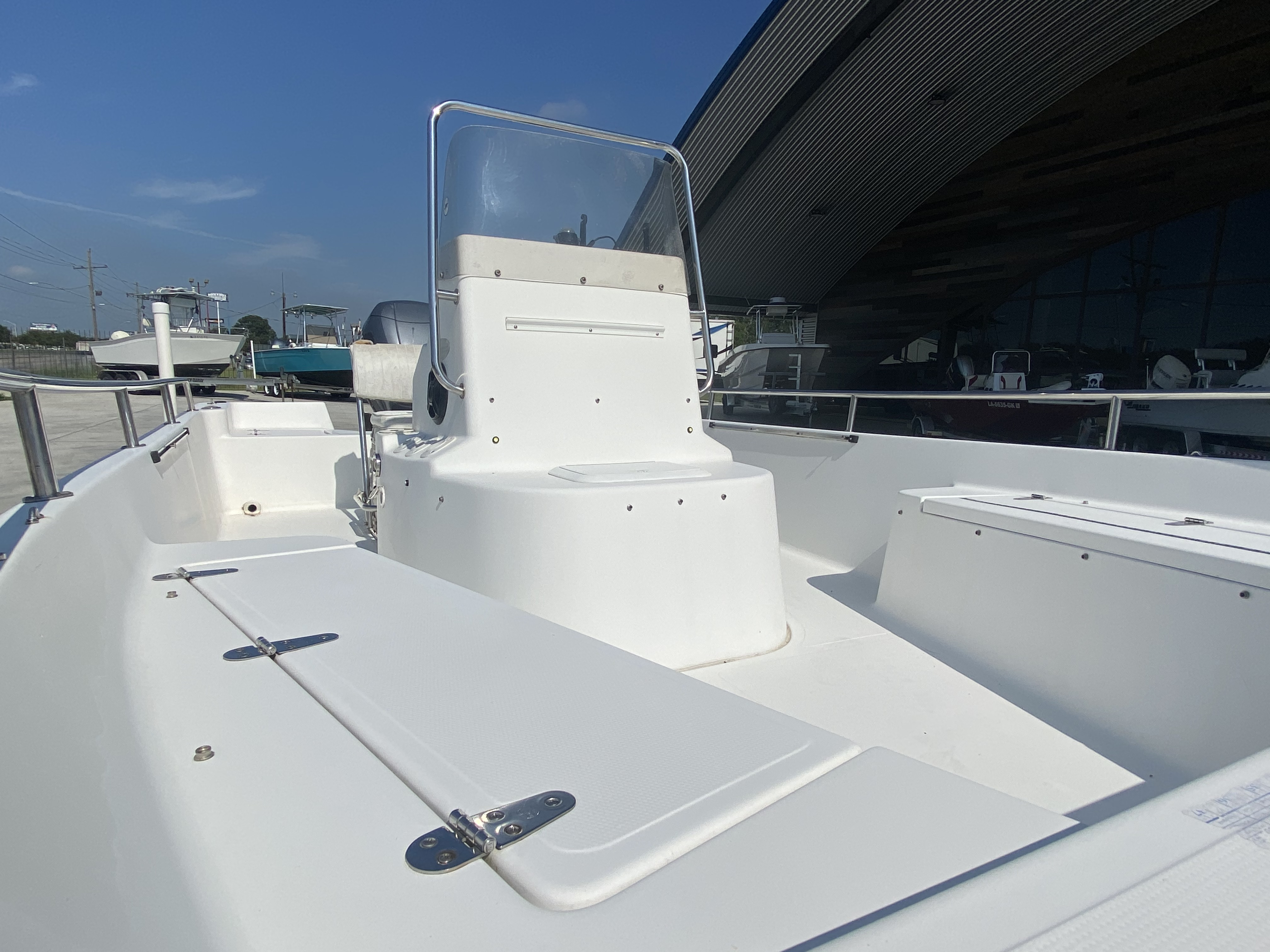 2003 Sea Pro boat for sale, model of the boat is SV2100 & Image # 9 of 12