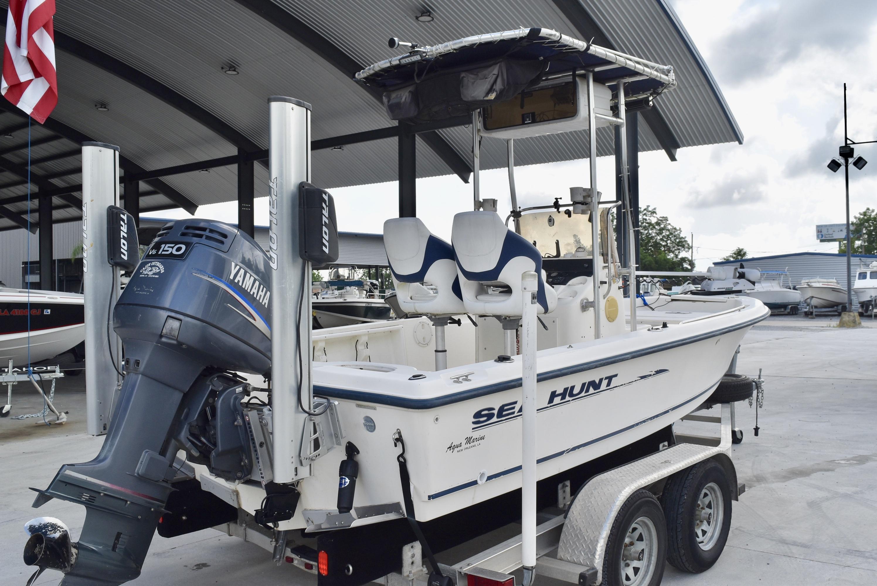 2002 Sea Hunt boat for sale, model of the boat is Navigator 20 & Image # 5 of 7