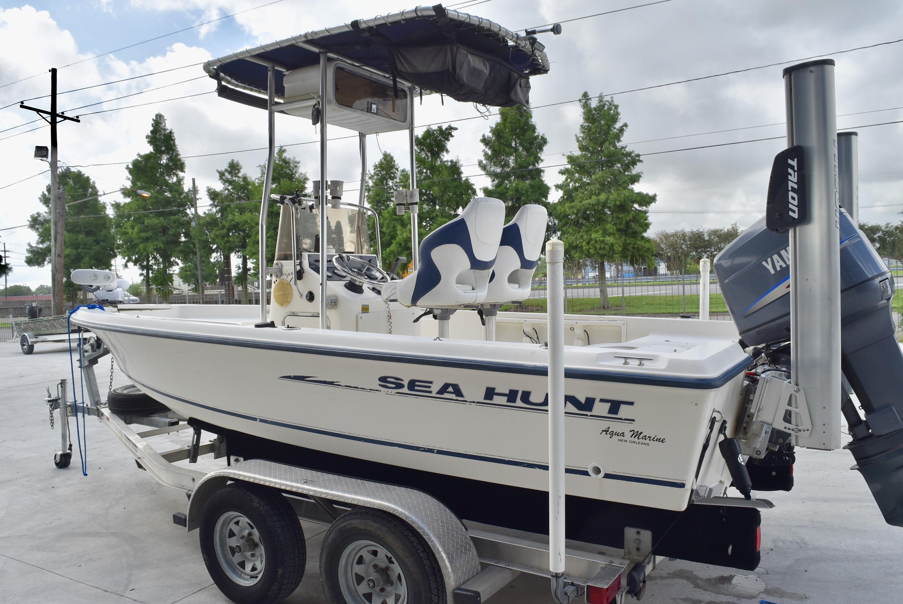 2002 Sea Hunt boat for sale, model of the boat is Navigator 20 & Image # 7 of 7
