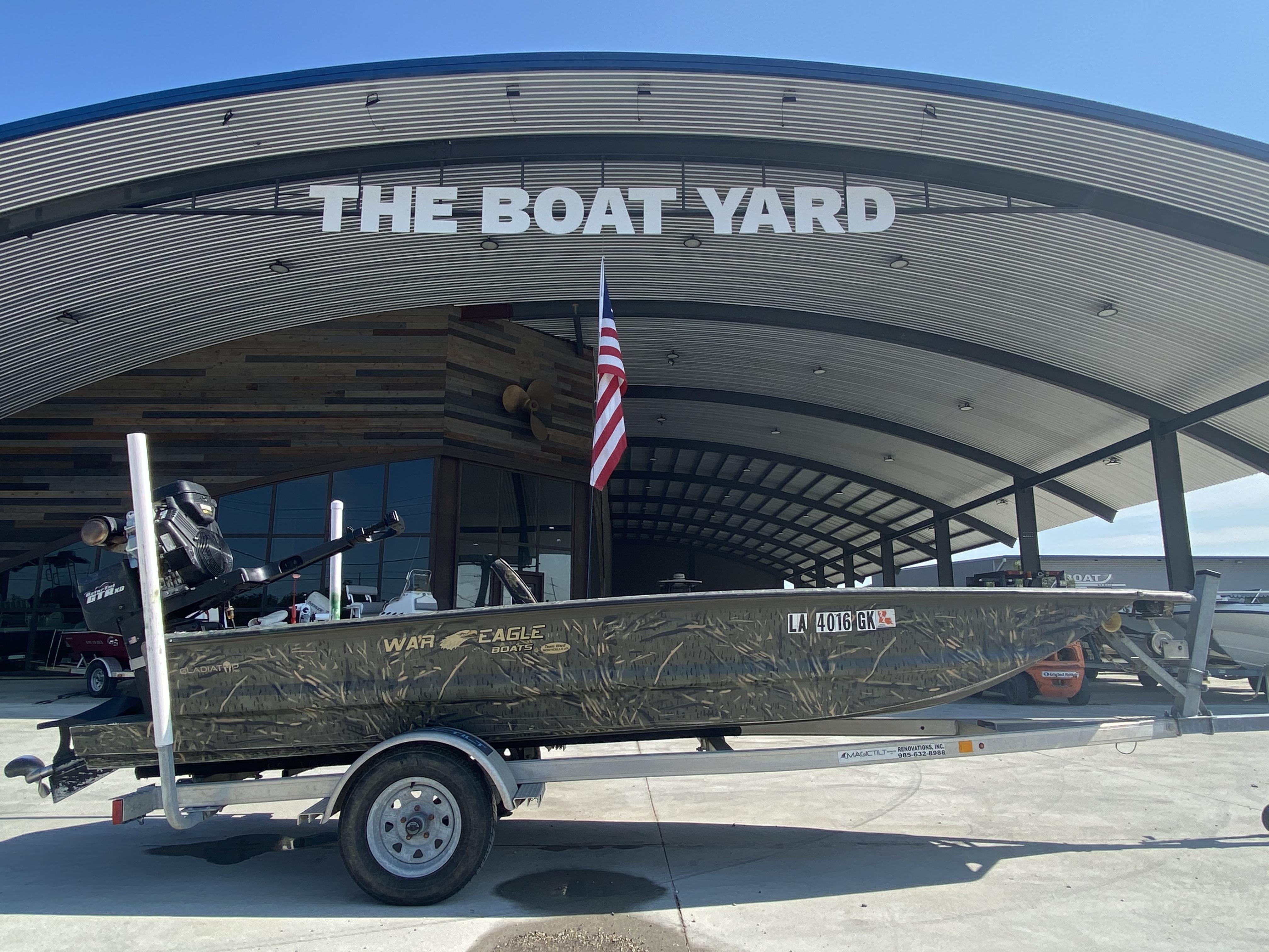 2020 War Eagle boat for sale, model of the boat is Gladiator 750 & Image # 1 of 11