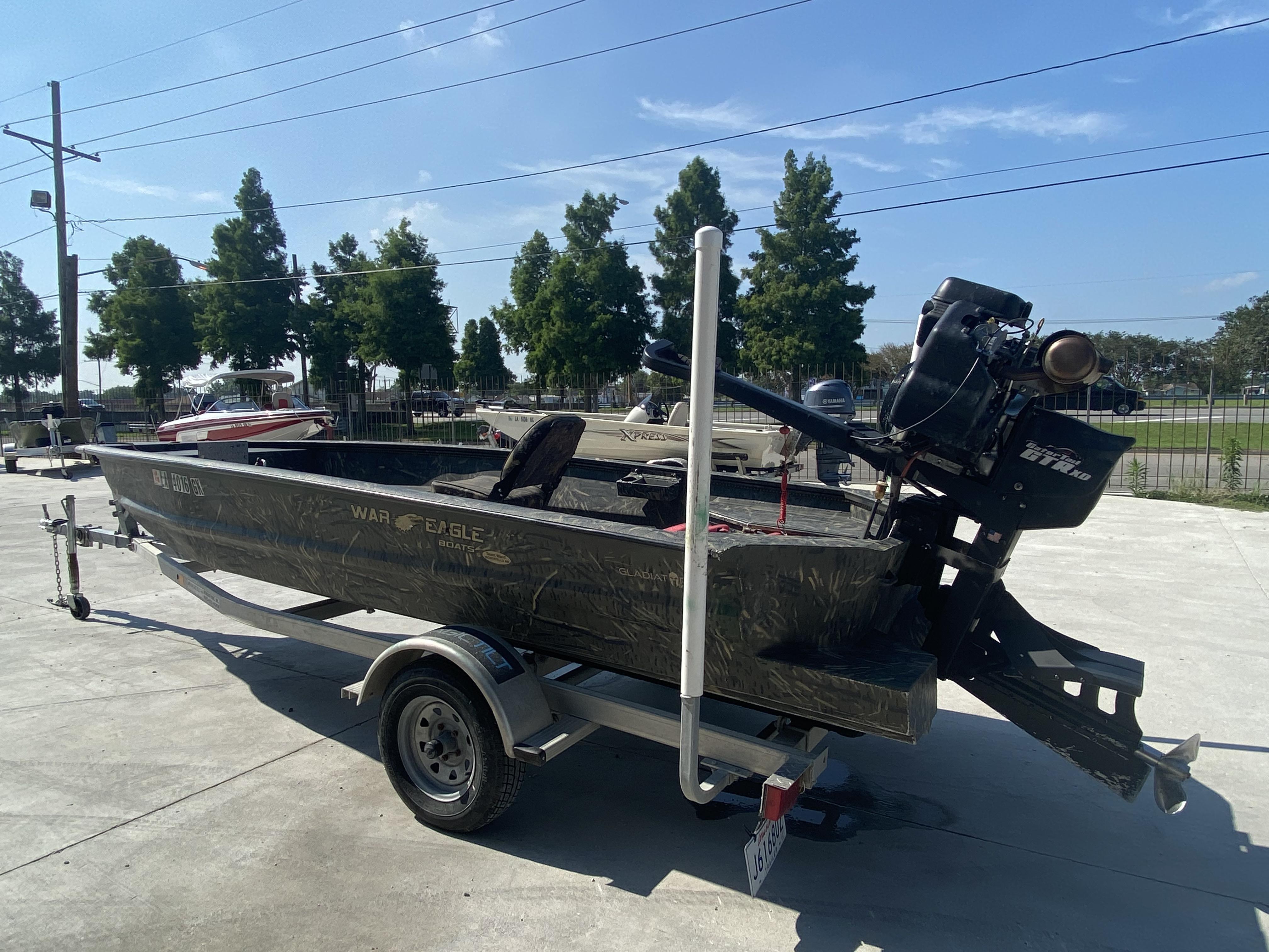 2020 War Eagle boat for sale, model of the boat is Gladiator 750 & Image # 3 of 11
