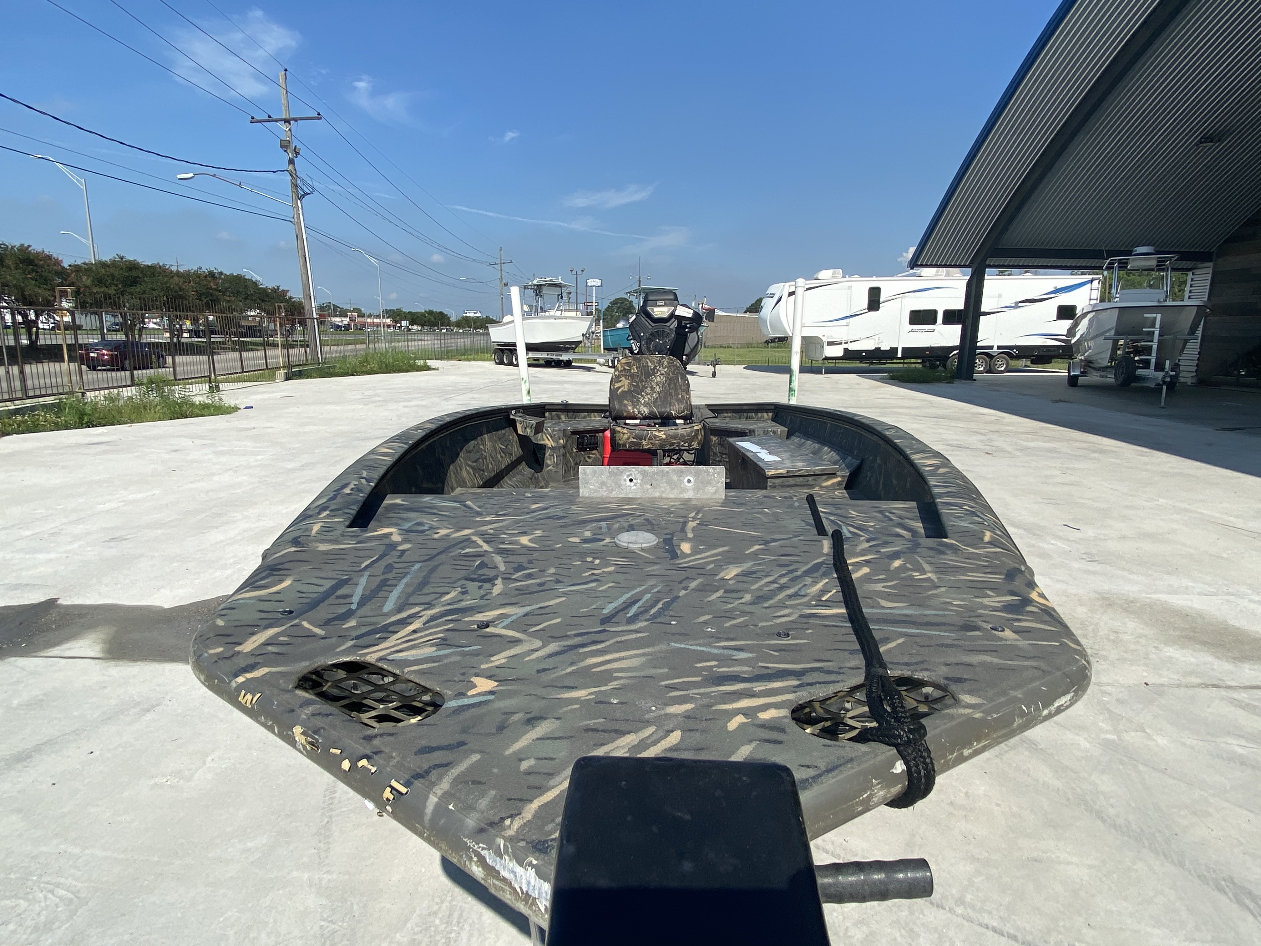 2020 War Eagle boat for sale, model of the boat is Gladiator 750 & Image # 4 of 11