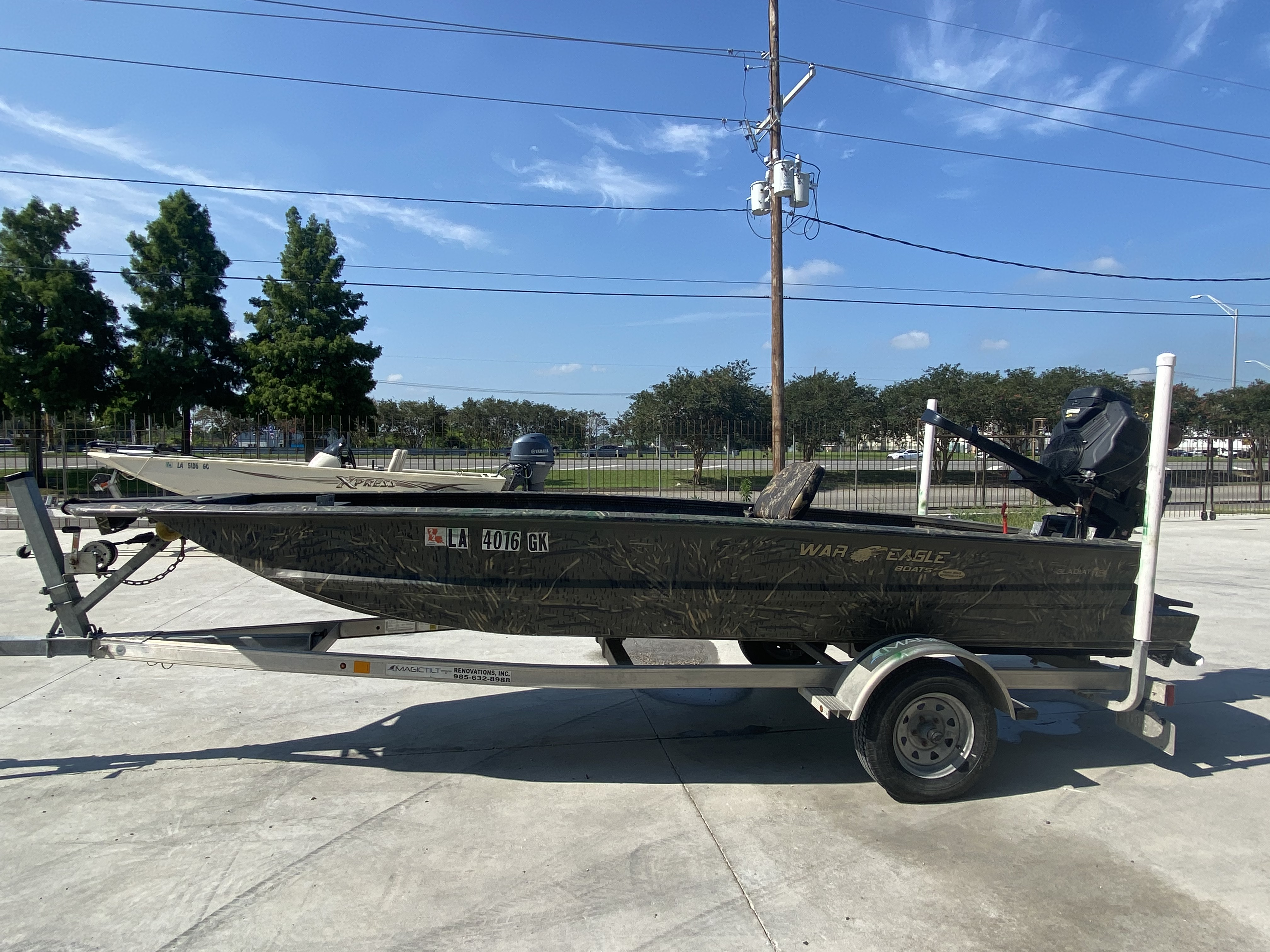 2020 War Eagle boat for sale, model of the boat is Gladiator 750 & Image # 5 of 11
