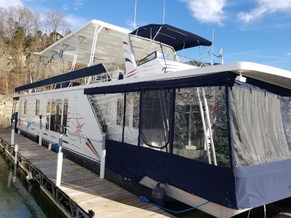 2001 Lakeview 16 X 76 Houseboat thumbnail