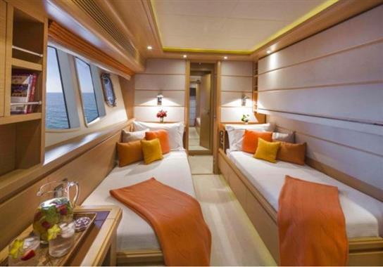 2011 Custom Line 97' ''Soleado'' - Twin Guest Stateroom