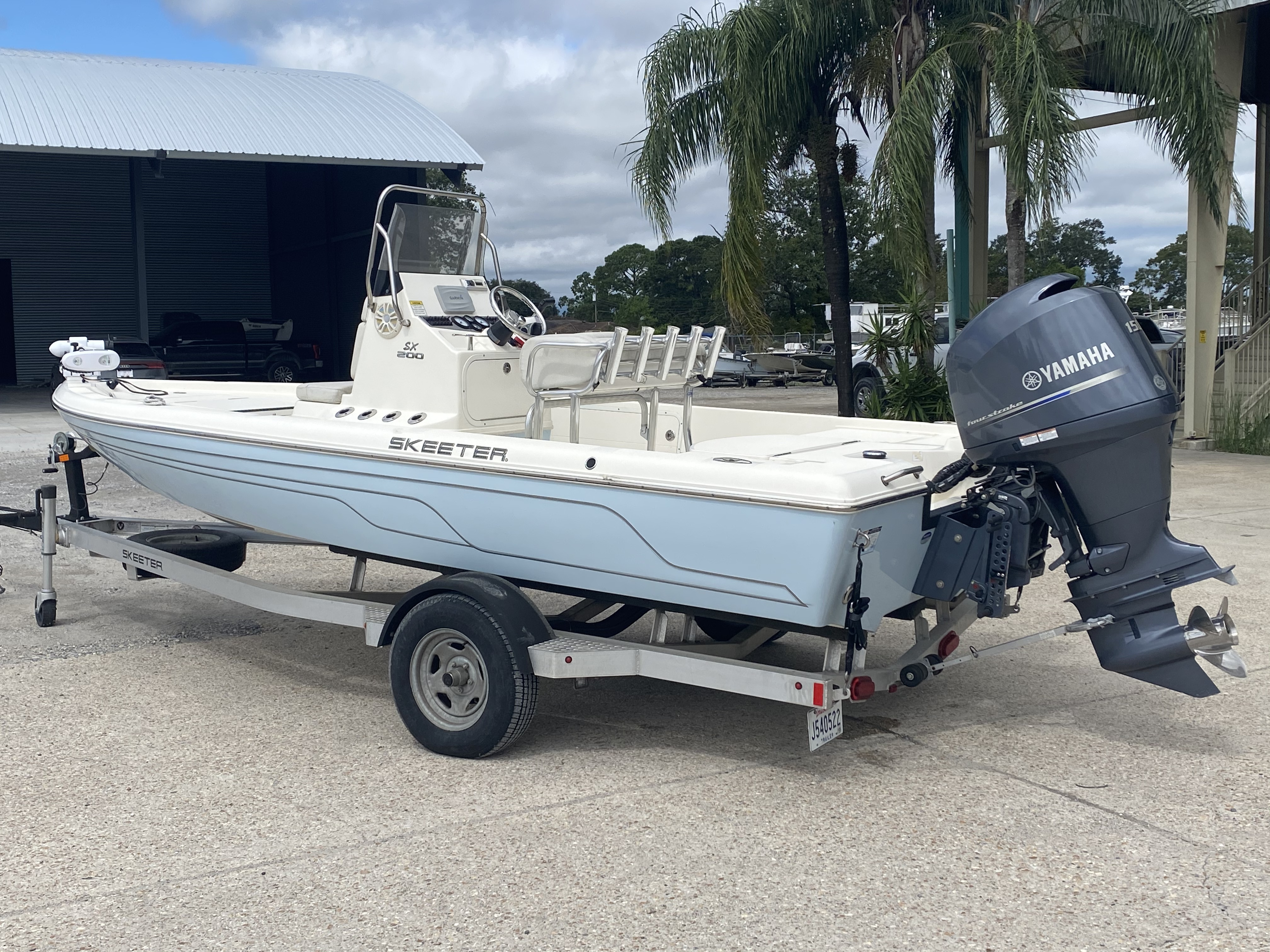 2016 Skeeter boat for sale, model of the boat is SX200 & Image # 2 of 19