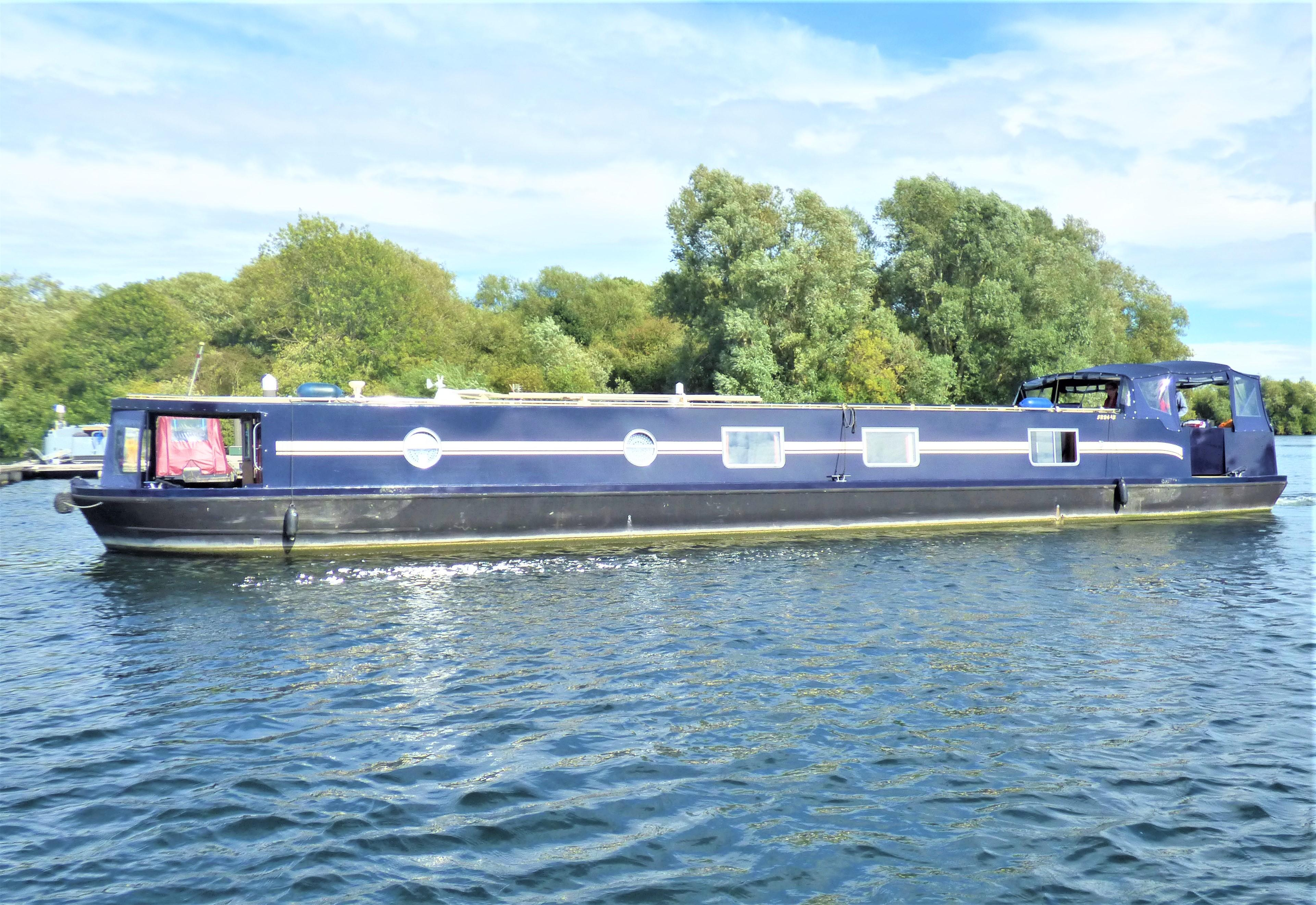 Wide Beam Narrowboat Lambon 62' Unique Design