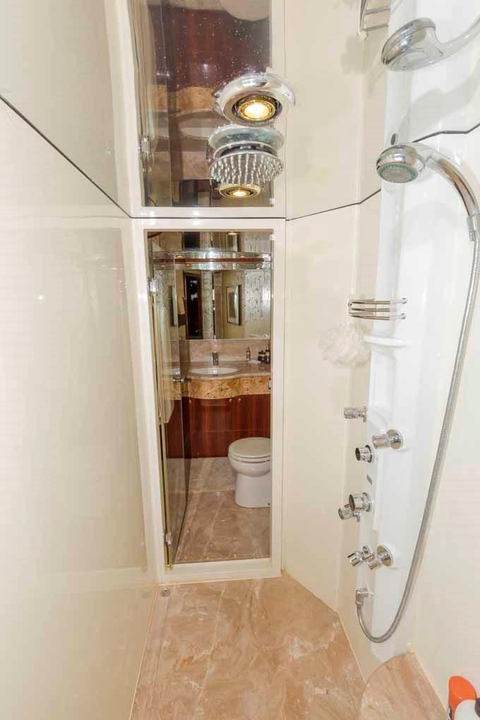 Center Shower