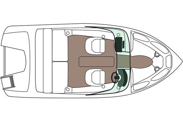 2014 Rinker boat for sale, model of the boat is Captiva 186 BR OB & Image # 4 of 4