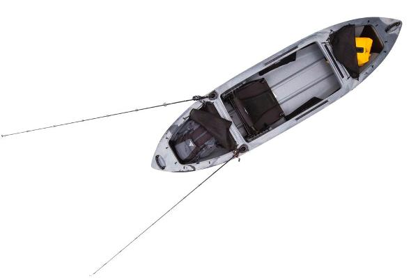 2020 Ascend boat for sale, model of the boat is H10 Hybrid Sit-In (Titanium) & Image # 4 of 6