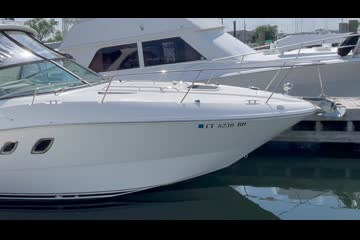 Sea Ray 310 Sundancer video