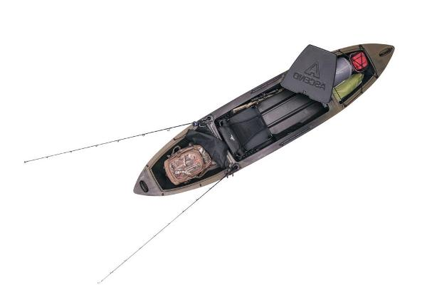 2021 Ascend boat for sale, model of the boat is H12 Hybrid Sit-In - Camo & Image # 6 of 6