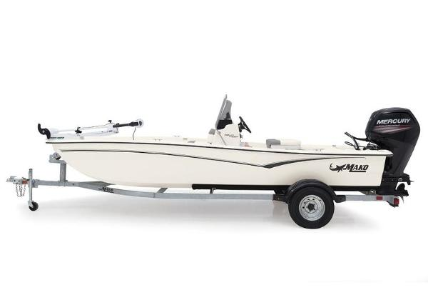 2021 Mako boat for sale, model of the boat is Pro Skiff 17 CC & Image # 1 of 1