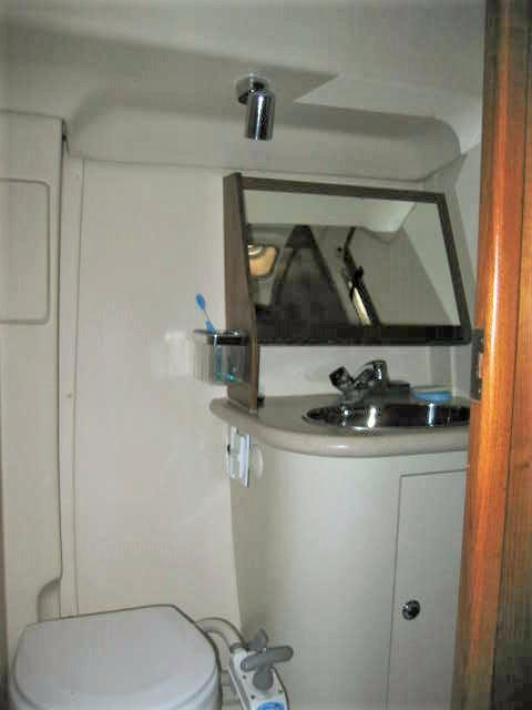 Commode & Sink in Aft Head