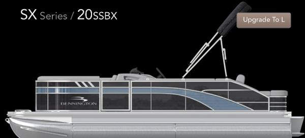 2021 Bennington 20 SSBX