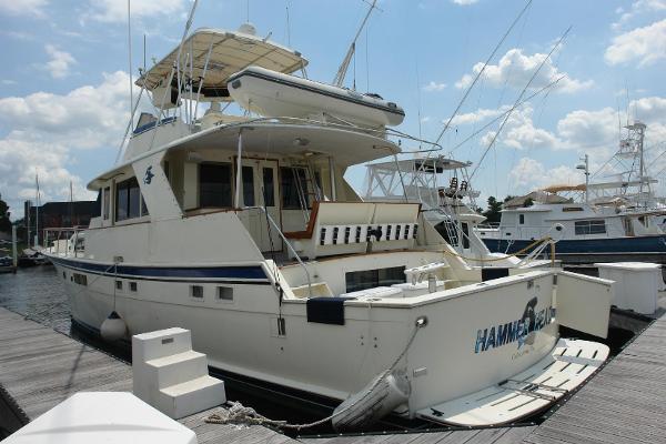 1975 Hatteras 58 Yachtfish thumbnail