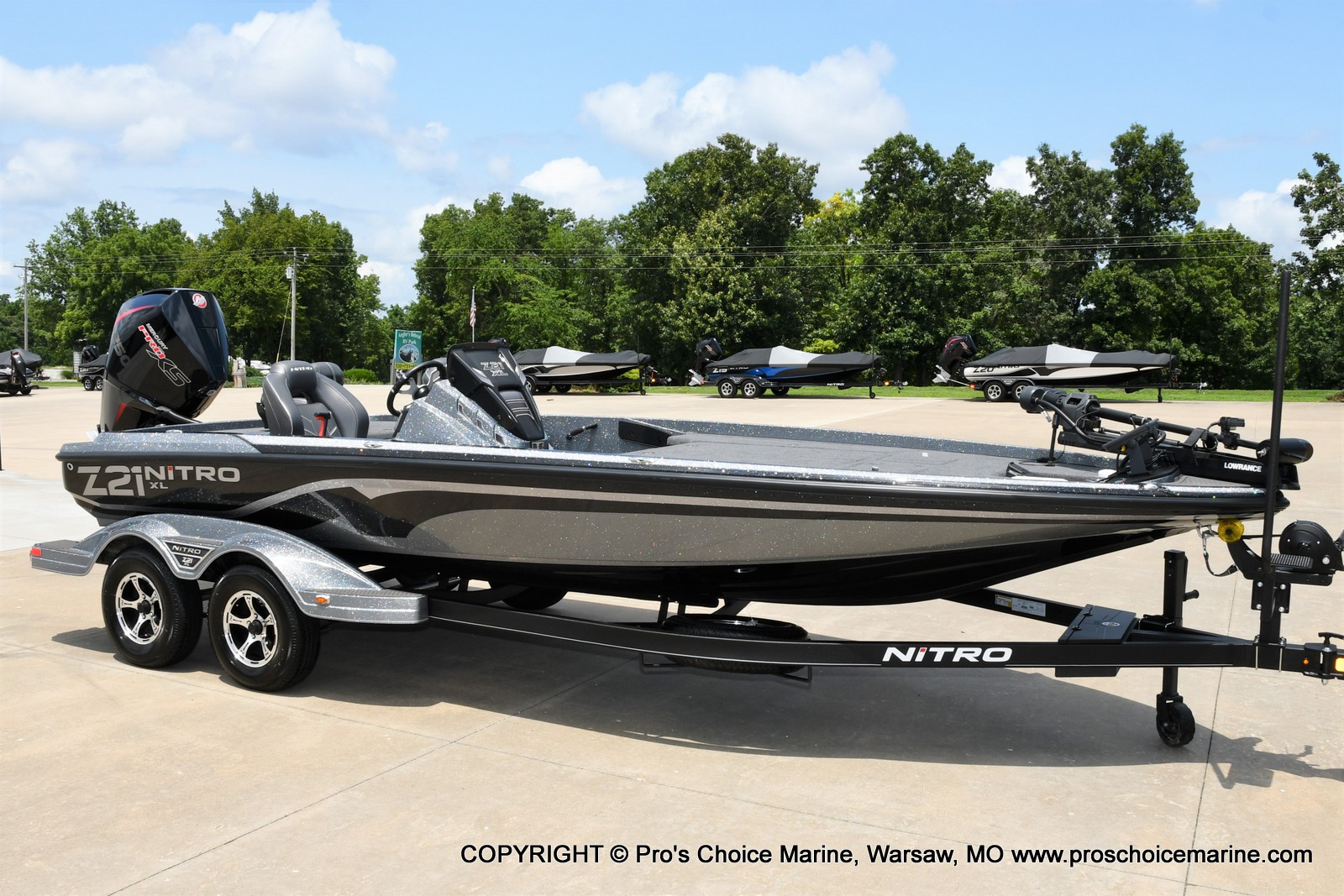2022 Nitro boat for sale, model of the boat is Z21 XL Pro Pack & Image # 1 of 50