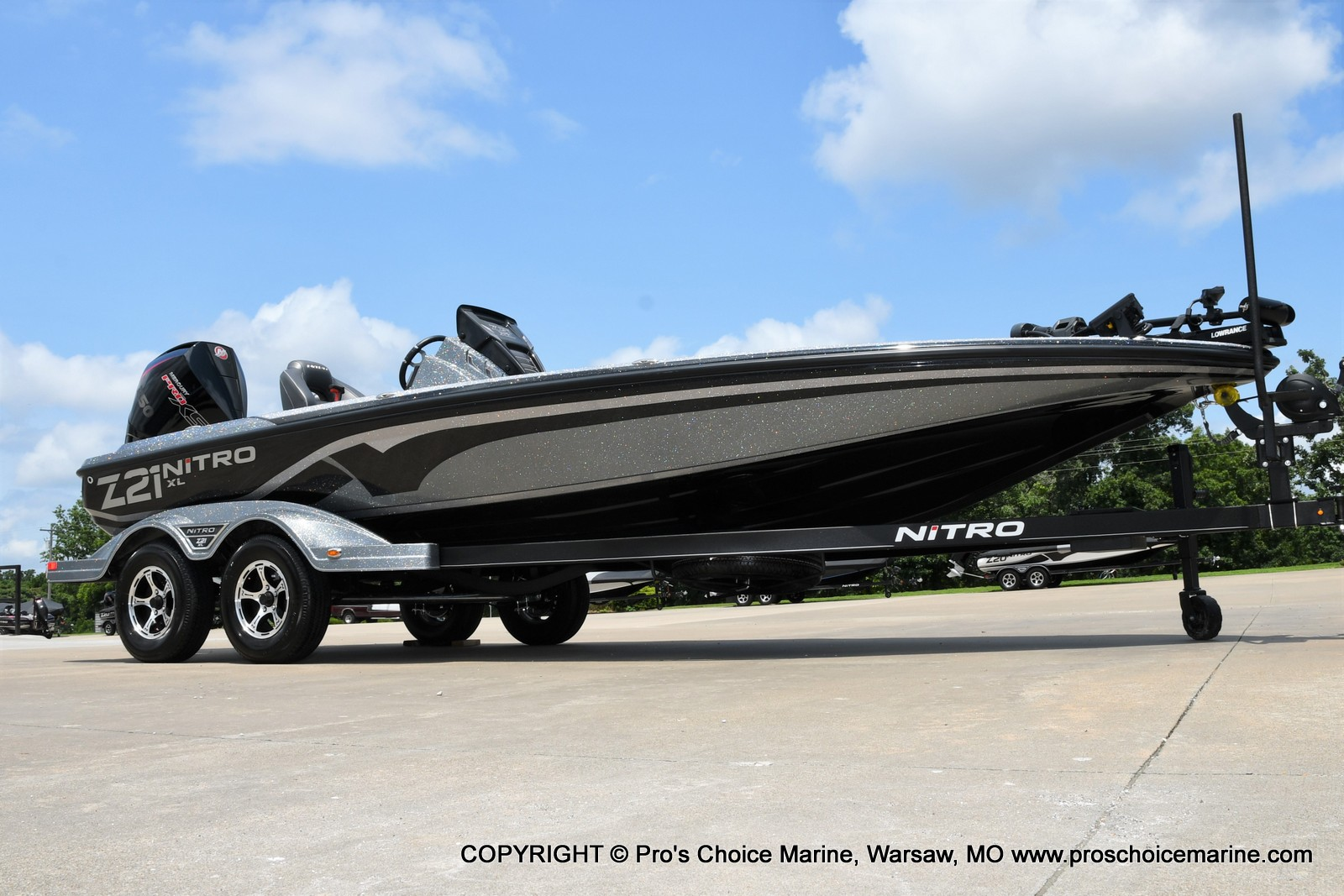 2022 Nitro boat for sale, model of the boat is Z21 XL Pro Pack & Image # 17 of 50