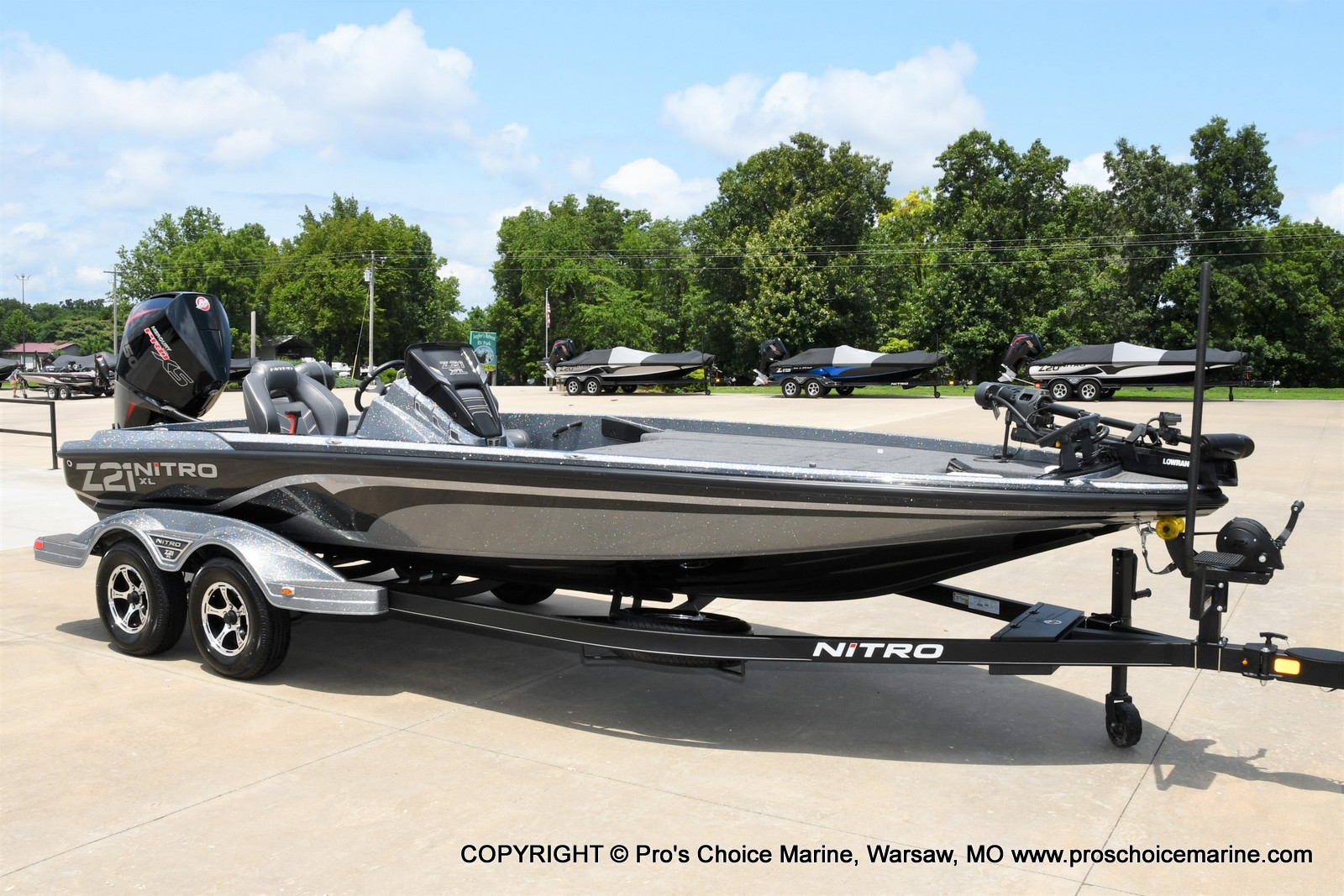 2022 Nitro boat for sale, model of the boat is Z21 XL Pro Pack & Image # 2 of 50