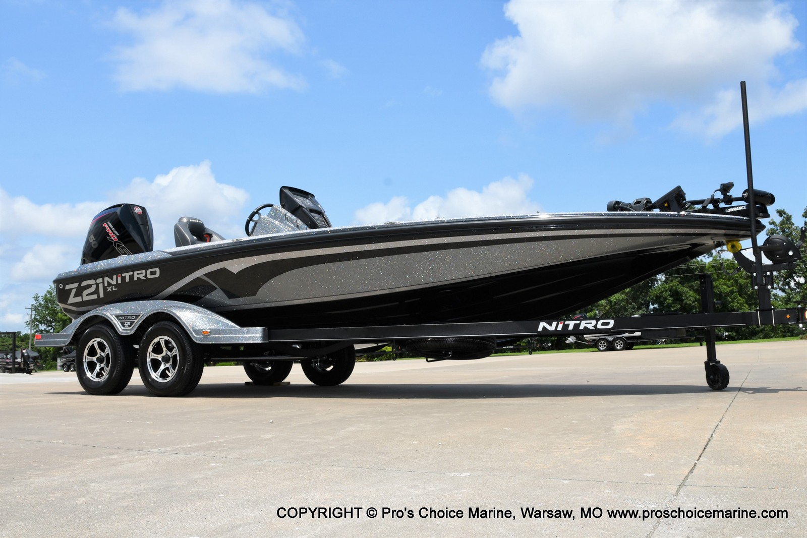 2022 Nitro boat for sale, model of the boat is Z21 XL Pro Pack & Image # 3 of 50