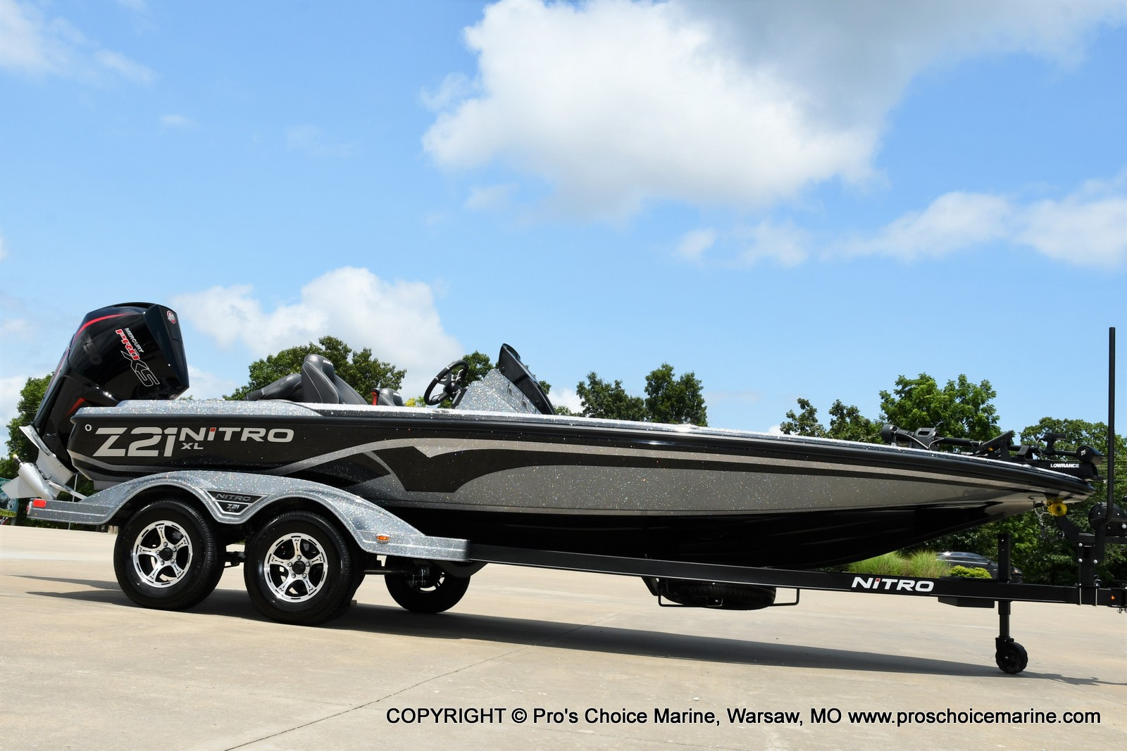 2022 Nitro boat for sale, model of the boat is Z21 XL Pro Pack & Image # 48 of 50