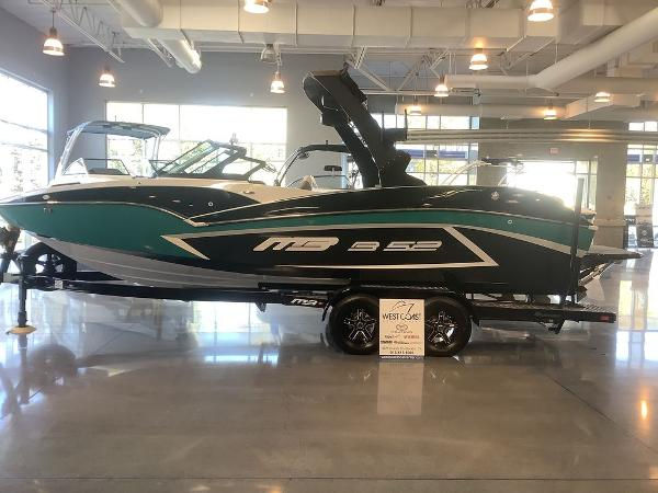 2021 MB Sports boat for sale, model of the boat is B52 23 Alpha & Image # 4 of 27