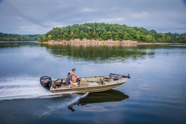 2020 Tracker Boats boat for sale, model of the boat is Grizzly 1648 SC & Image # 16 of 35