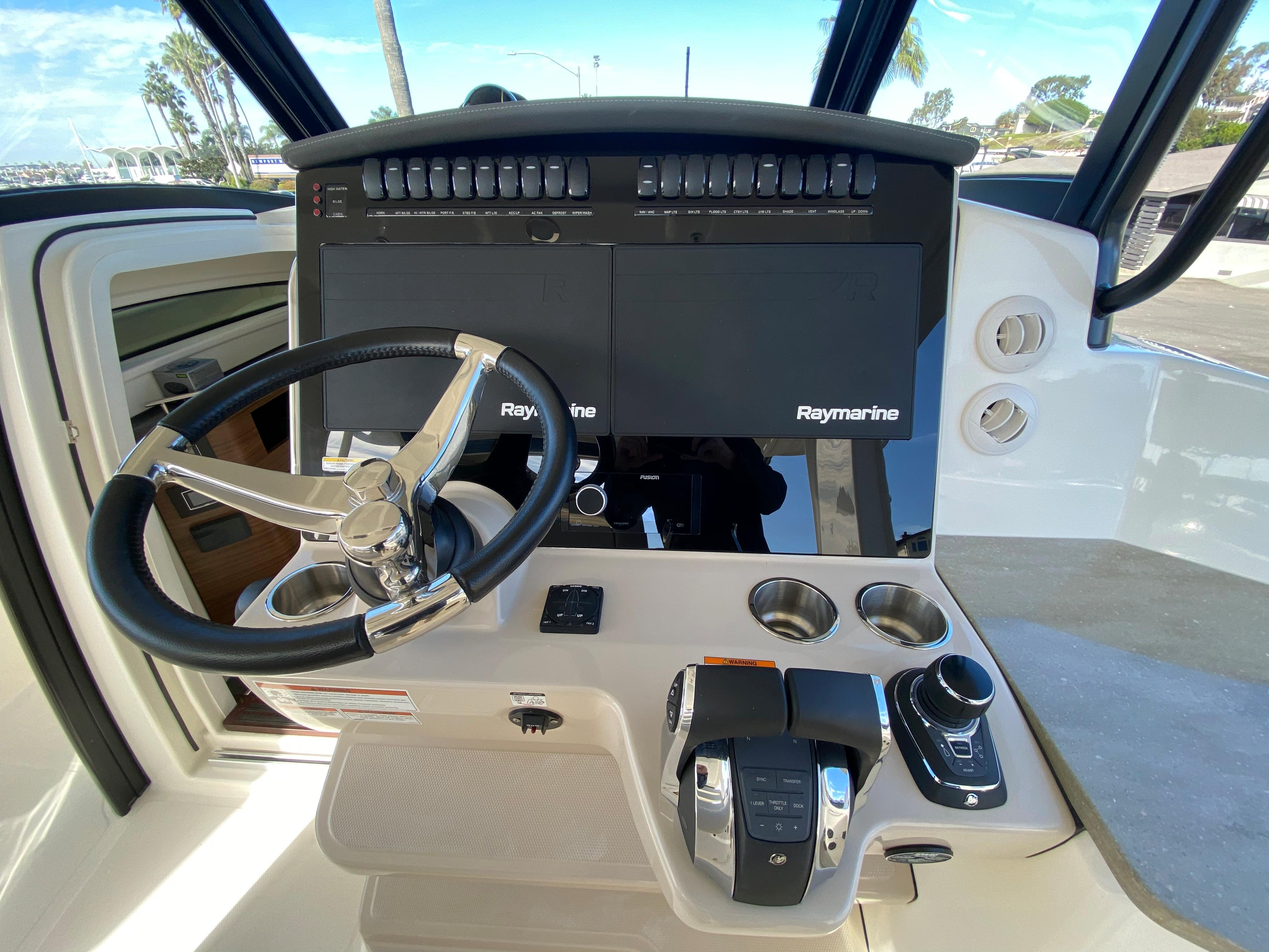 2021 Boston Whaler 350 Realm #BW0490G inventory image at Sun Country Yachts in Newport Beach