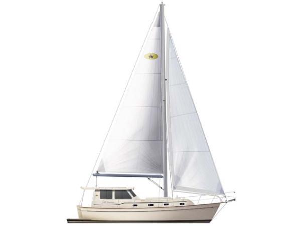 Island Packet SP Cruiser Rendering