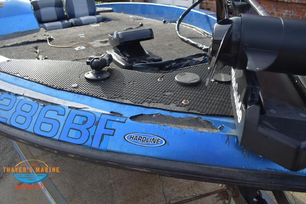 1988 Skeeter boat for sale, model of the boat is SF17D & Image # 9 of 17