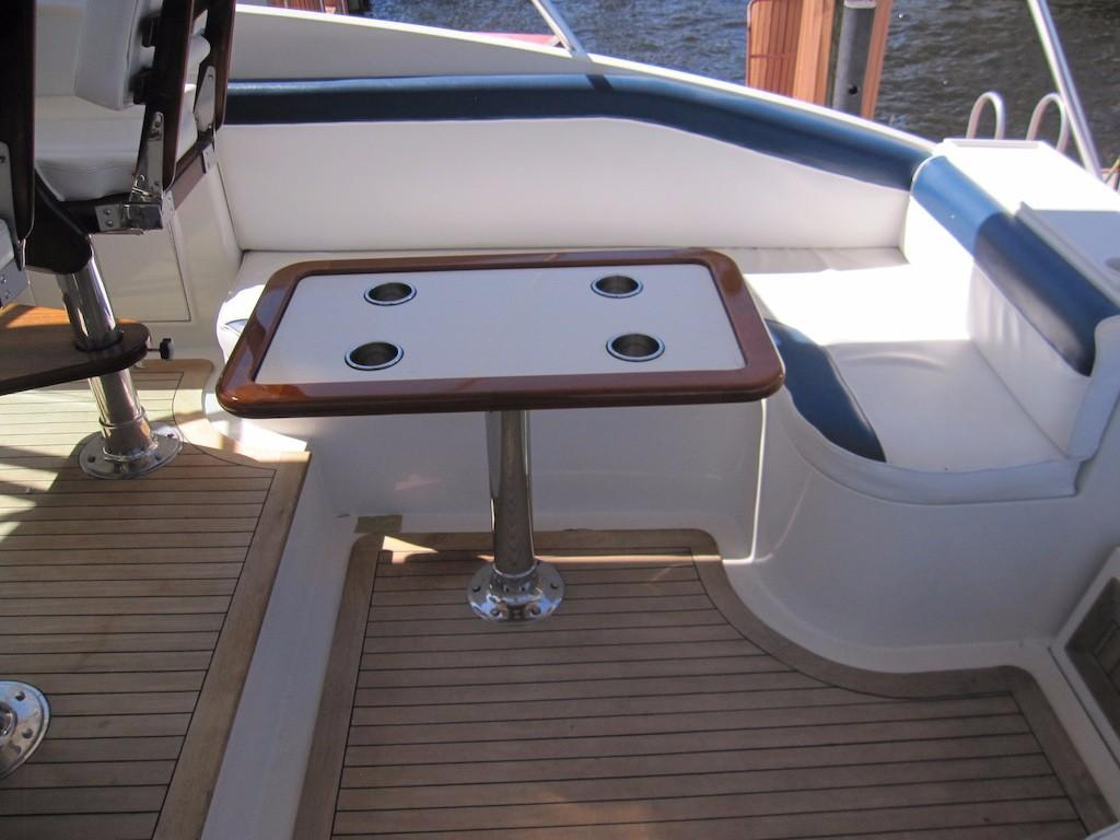 Helm Deck Seating and Table