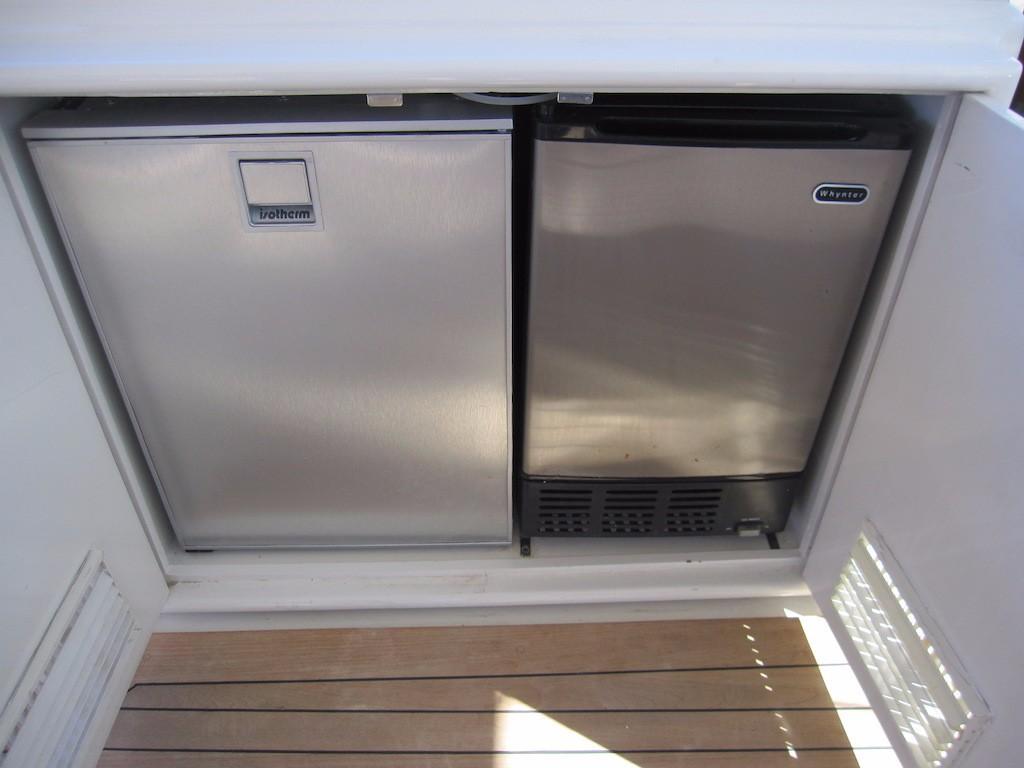 Helm Deck Refrigerator and Icemaker