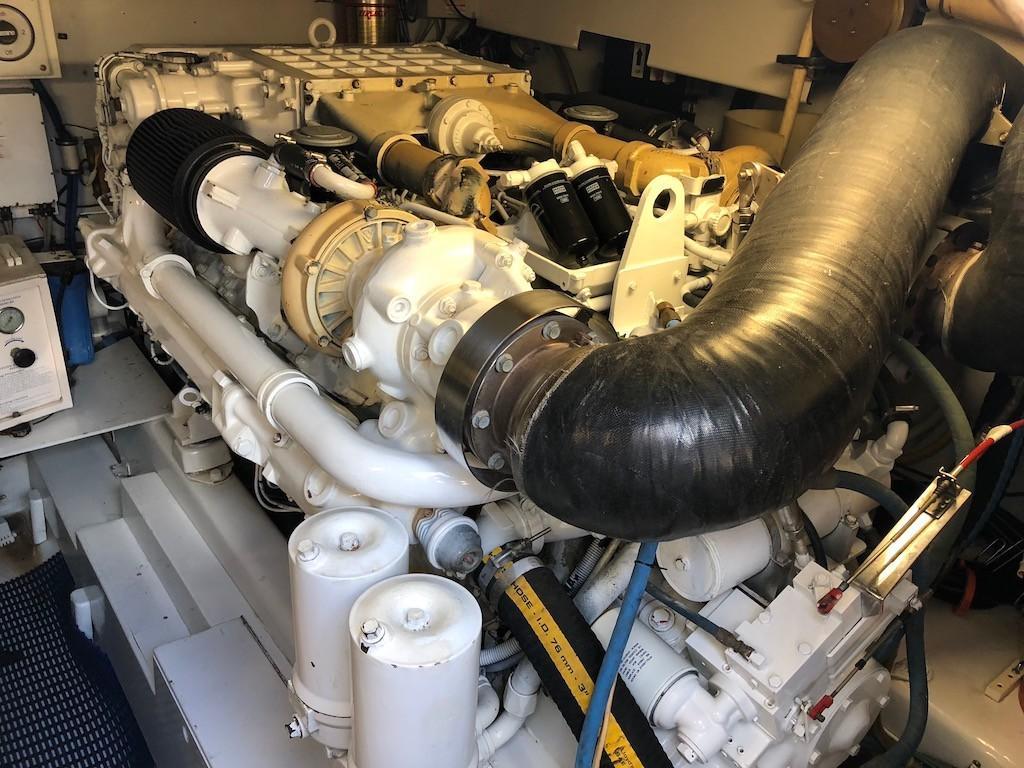 Starboard Main Engine