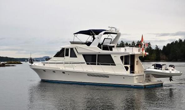 2002 Canoe Cove 50 Pilothouse Luxury Yacht