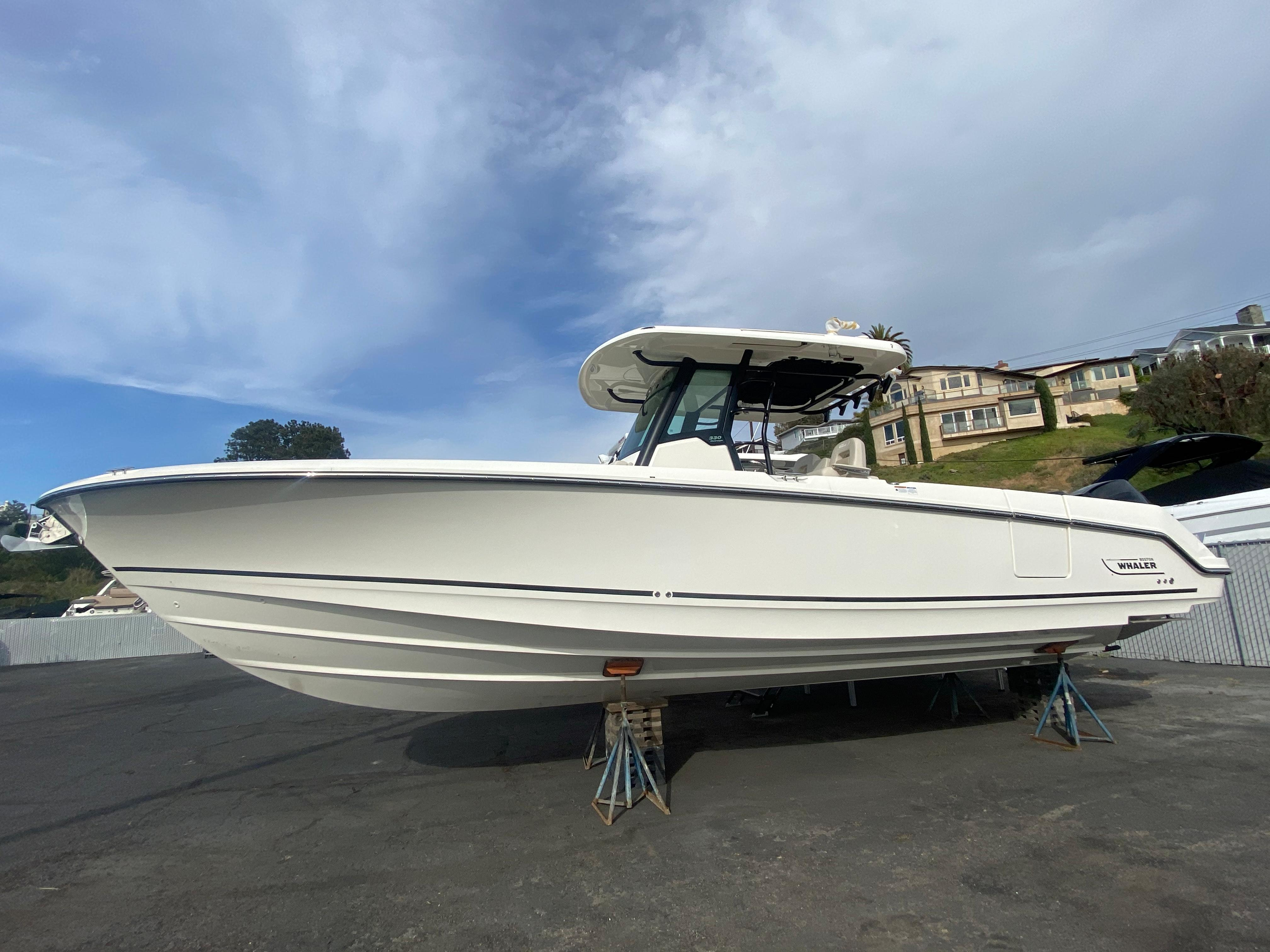 2021 Boston Whaler 330 Outrage #BW1736A inventory image at Sun Country Coastal in Newport Beach