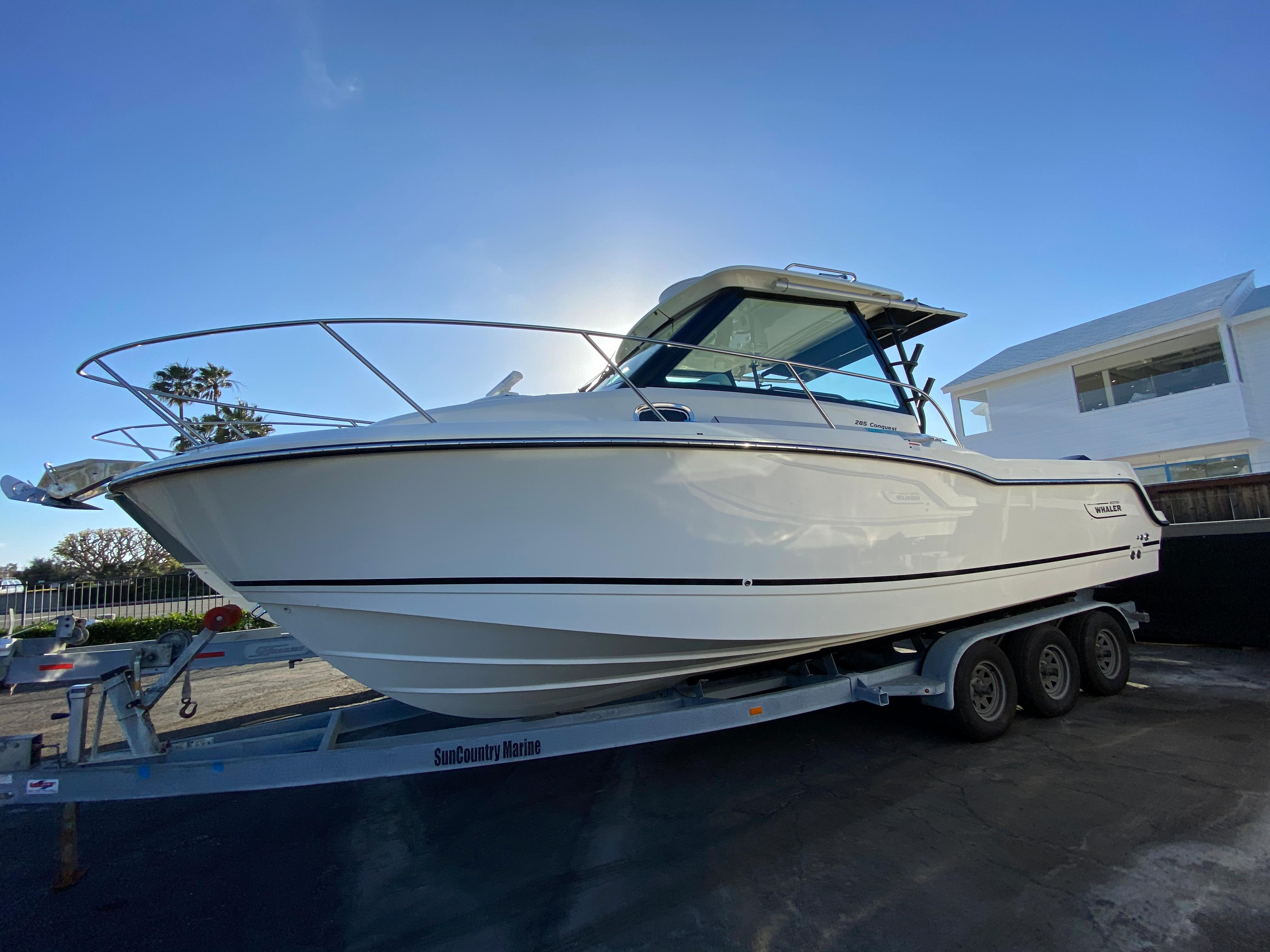 2021 Boston Whaler 285 Conquest #BW1643A inventory image at Sun Country Coastal in Newport Beach
