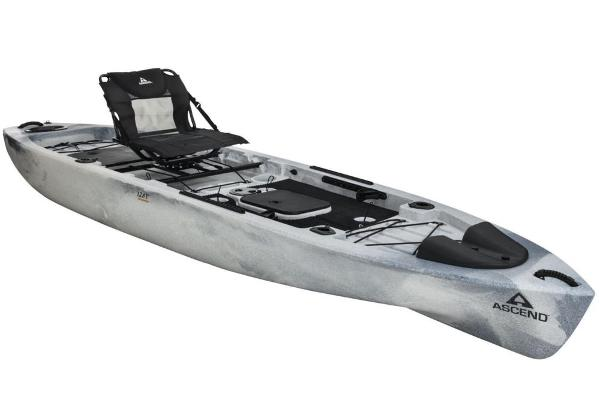 For Sale: 2020 Ascend 128t Yak-power Sit-on - White-black 12.67ft<br/>Nobles  Marine