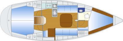 Manufacturer Provided Image: Bavaria 36 Plan 2