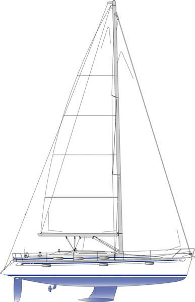 Manufacturer Provided Image: Sail Plan