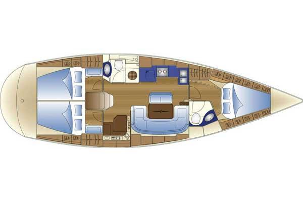 Manufacturer Provided Image: Cabin Layout