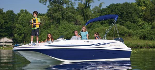 2014 Hurricane boat for sale, model of the boat is SunDeck Sport 188 OB & Image # 1 of 6