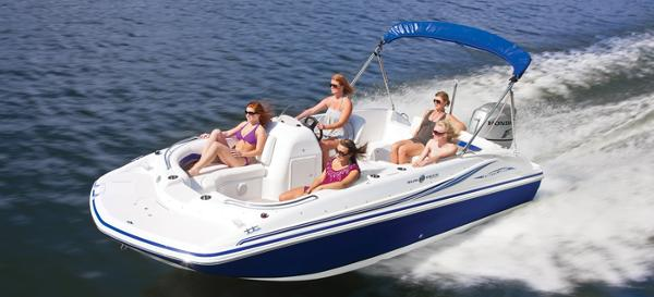 2014 Hurricane boat for sale, model of the boat is SunDeck Sport 188 OB & Image # 4 of 6