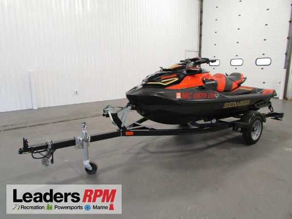 2019 Sea-Doo RXT-X 300 IBR & Sound System Eclipse Black and thumbnail